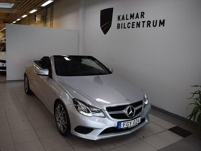 begagnad Mercedes E200 Cabriolet 7G-Tronic Plus Euro 6 184hk