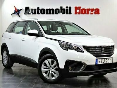 begagnad Peugeot 5008 1.2 PureTech Auto Eu6 7-sits Drag Nybes 2017, SUV Pris 214 900 kr