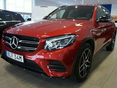 begagnad Mercedes 220 GLC Benzd 4MATIC AMG Dragkrok 2019, SUV Pris 439 000 kr