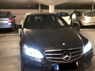 begagnad Mercedes E220 AMG 4Matic, 1500mil