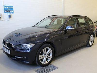 begagnad BMW 320 d Touring, F31 SPORTLINE M-VÄRME 184hk