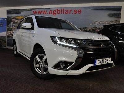begagnad Mitsubishi Outlander P-HEV Hybrid 4WD Skinn