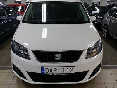 begagnad Seat Alhambra 2.0 TDI Ecomotive Style 7-sits 177hk. PANORAMA