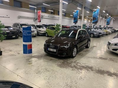 begagnad Audi A1 1.2 TFSI Proline Ny Servad Välvårdad (86hk)