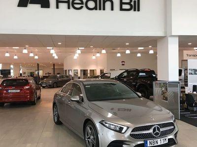 begagnad Mercedes A200 SEDAN AUT / AMG LINE / DEMO / PARKERINGSPAKET