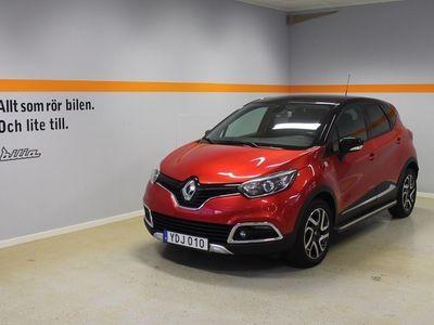begagnad Renault Captur TCe 90 En Svensk Klassiker Röd