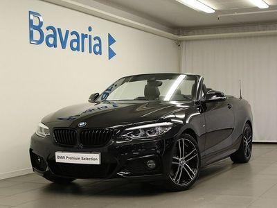 begagnad BMW 220 i Cabriolet Cabrio M sport Cabriopkt Nav H/K Läder Aut