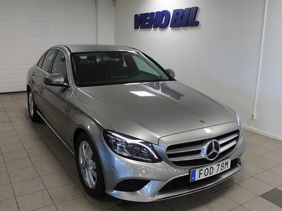 begagnad Mercedes C220 d Navi Drag Aut -19