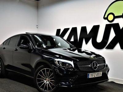 begagnad Mercedes E250 GLC d Coupé 4M | AMG | Burmester | Taklucka |