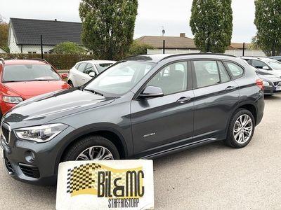 begagnad BMW X1 xDrive18d Steptronic Sport line Euro 6 150hk
