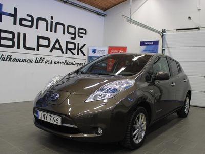begagnad Nissan Leaf 30 kWh Tekna / Bose / Skinn