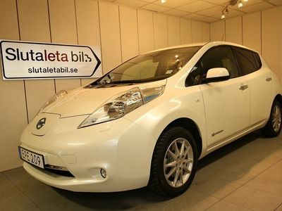begagnad Nissan Leaf ELBIL 24KWH ACCENTA AUT GPS SOLCE -16