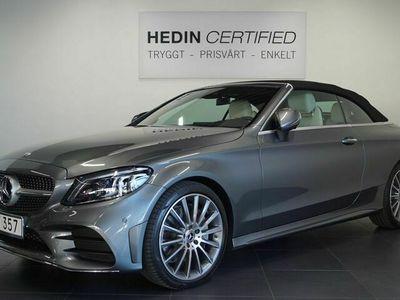 "begagnad Mercedes C300 - BenzCabriolet 9G - Tronic AMG Paket / / 19"" Alu fälgar mm 258hk"