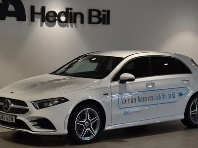 begagnad Mercedes A250 A BenzE AMG Line DEMO 2021, Halvkombi Pris 419 900 kr