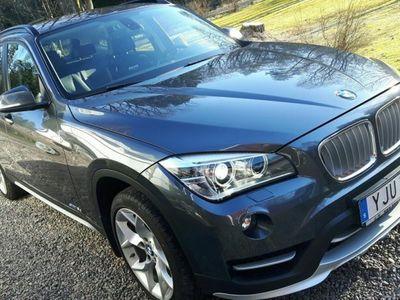 begagnad BMW X1 18D S-DRIVE M-Värm Drag Välservad -15