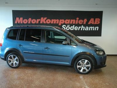 brugt VW Touran Cross 1.4 TSI (140hk) Läder Kombi