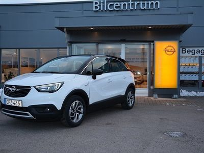 begagnad Opel Crossland X Dynamic 1.2 Turbo 110hk, AUT, Apple Carplay