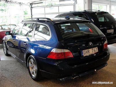 begagnad BMW 520 d Touring Comfort Skinn +GPS+Xenon Kombi 2008
