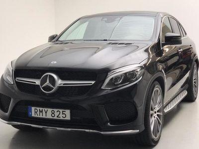 begagnad Mercedes GLE350 d 4MATIC Coupé C292 2017, SUV 540 000 kr