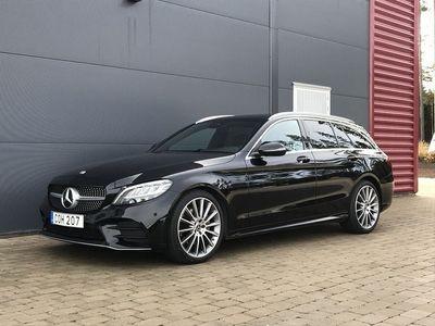 begagnad Mercedes 220 C-KlassD AMG-Paket / Drag / Panorama