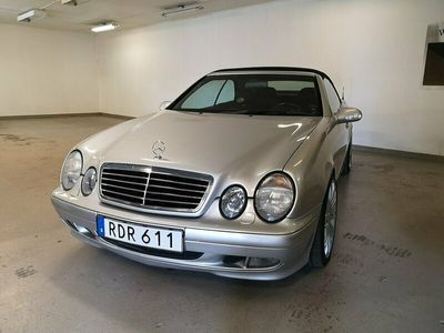 begagnad Mercedes CLK230 Kompressor Cabriolet Automat Elegance 193hk