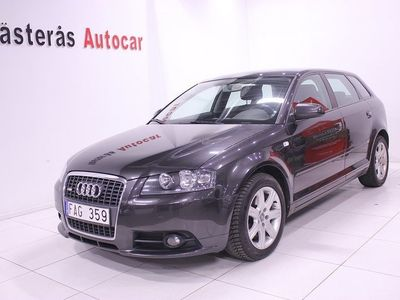 begagnad Audi A3 Sportback 1.8 TFSI S-Line, Attraction, Drag 160hk