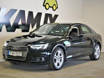 begagnad Audi A4 2.0 TDI Q | D-värmare | Drag | Euro6 2018, Sedan 269 800 kr