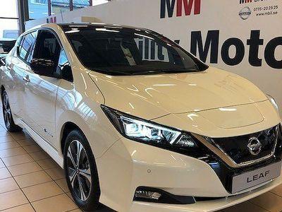usado Nissan Leaf LeafTEKNA 40 kWh DARK GREY 4385:- PRIVATLEASING