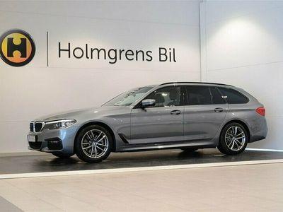 begagnad BMW 520 d xDrive Touring M Sport Navi Värmare Drag HiFi Backkamera