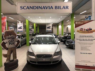 begagnad Volvo V50 2.4 Automat 8900 MIL VÄLVÅRDAD