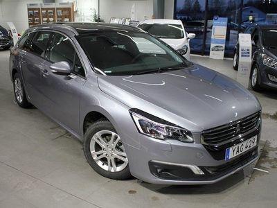 begagnad Peugeot 508 SW Active+ 1,6 BlueHDi 120hk Automat - VISNINGSEX