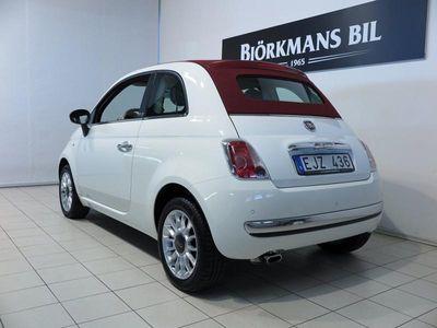 begagnad Fiat 500 CLounge 1,2 Cab 1 ägare 69hk 2014