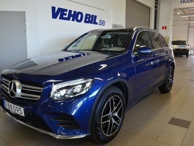 begagnad Mercedes GLC250 d 4MATIC 9G-Tronic Euro 6, AMG Sky, Infotaimentpaket, Suv Pa