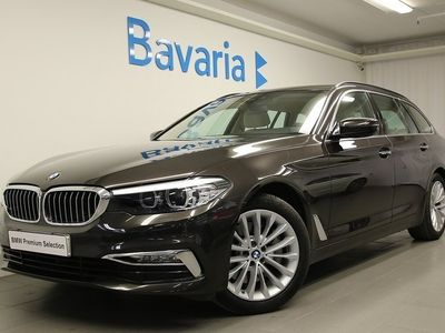 begagnad BMW 530 i Touring Luxury line Connected Comfort pack Drag