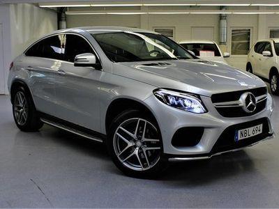 begagnad Mercedes 350 GLE SUV,d Coupé AMG Sport H/K diesel automat, Silver,