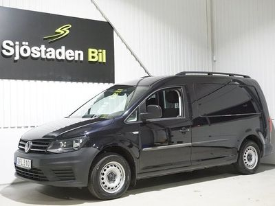 begagnad VW Caddy Maxi 2.0 TDI Inredning Drag D-värm Eu6 102hk