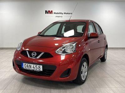 begagnad Nissan Micra 1.2 Euro 6 80hk