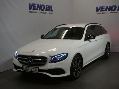 gebraucht Mercedes E220 9G-Tronic Night package Drag-
