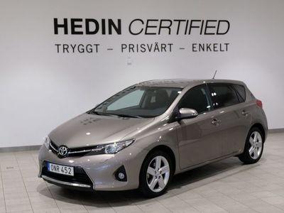begagnad Toyota Auris 1.6 1ÄGARE/BACKKAMERA 132hk