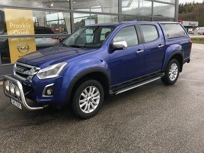 begagnad Isuzu Pick up Pick UpDubbelhytt AT, Flakbåge 2019, Transportbil 349 875 kr