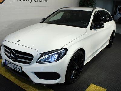 begagnad Mercedes C220 d AMG Paket