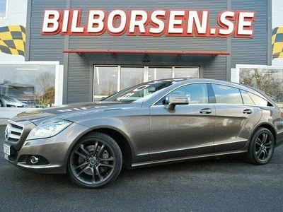 begagnad Mercedes CLS350 Shooting Brake CDI BE 4M BlueEFF 4x4 7G-Tronic Plus 265hk
