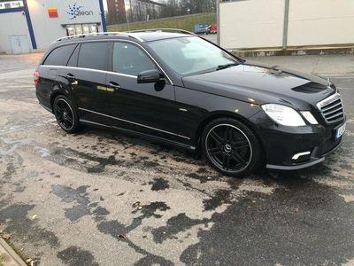 begagnad Mercedes E350 cdi amg nyskick