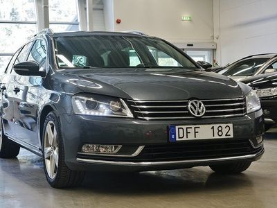 begagnad VW Passat TDI Premium, D-Värmare Läder Sport Drag 140hk