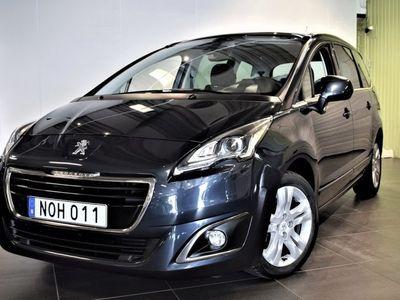 begagnad Peugeot 5008 1.6 e-HDi FAP EGS Navi Panorama 7-sits S&V, 114hk