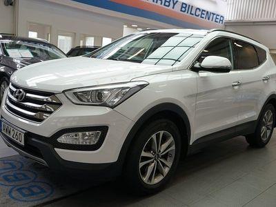 used Hyundai Santa Fe 2.2 CRDi 4WD Aut 200hk / Backkamera