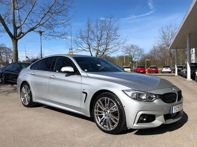 begagnad BMW 430 d xDrive GC M Sport Navi Harman Kardon Drag