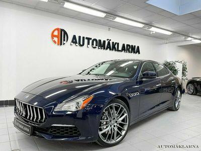 begagnad Maserati Quattroporte Granlusso Zegna MrCAP CERTIFIED