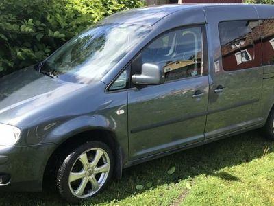 brugt VW Caddy Maxi Life 7 sits 140 hk -08