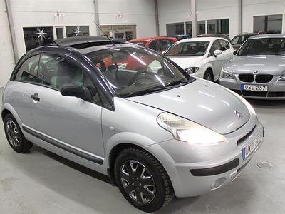begagnad Citroën C3 Pluriel 1,6I CAB AUTOMAT